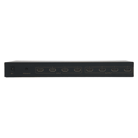 WolfPack 4-4 HDMI Matrix Router with RS232 ()