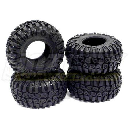 Integy RC Toy Model Hop-ups C23006 ERC4 Extreme Rock Crawlering 2.2 Tire (4)