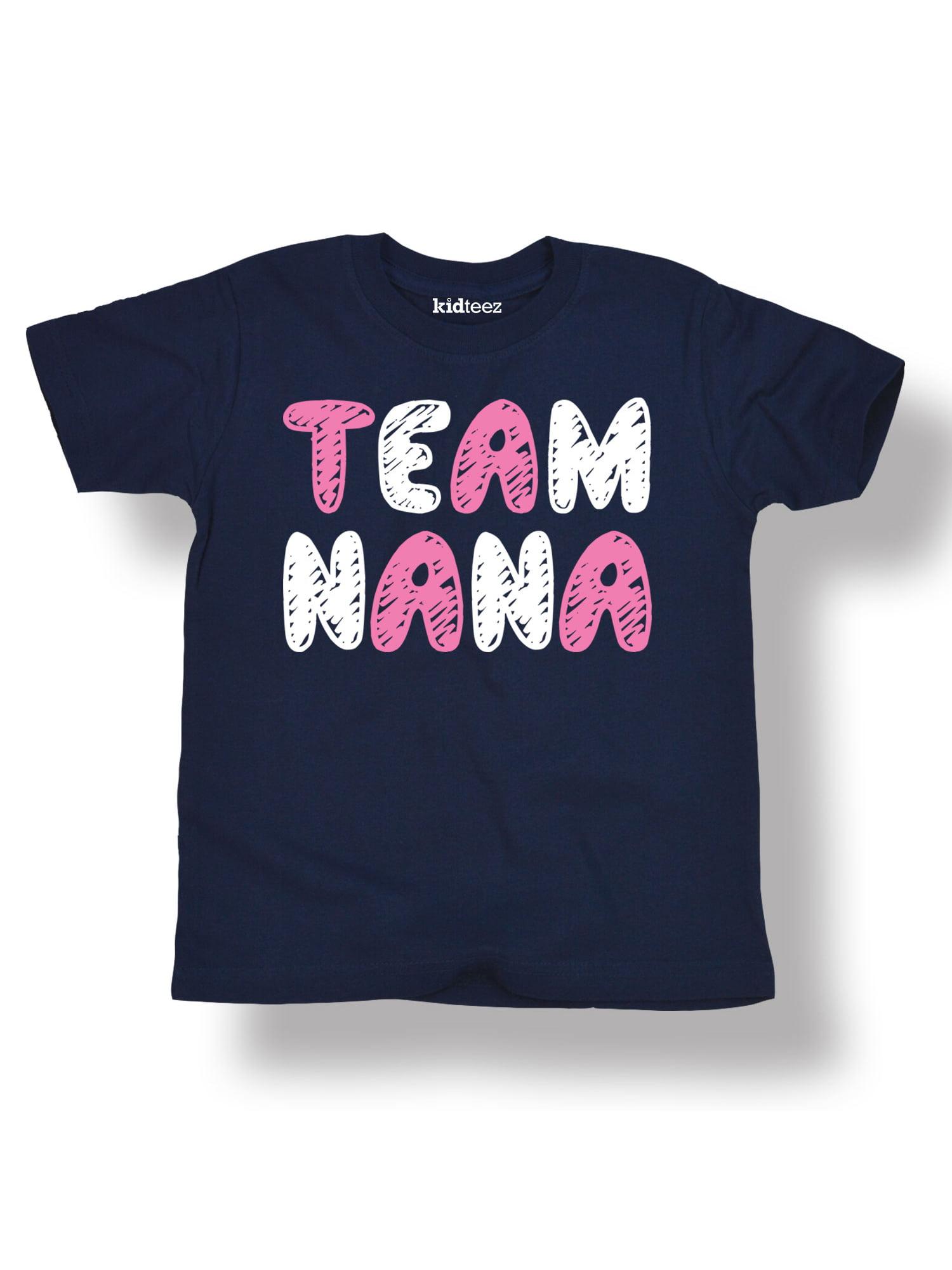 Team Nana, Scribbled  - Toddler Short Sleeve Tee