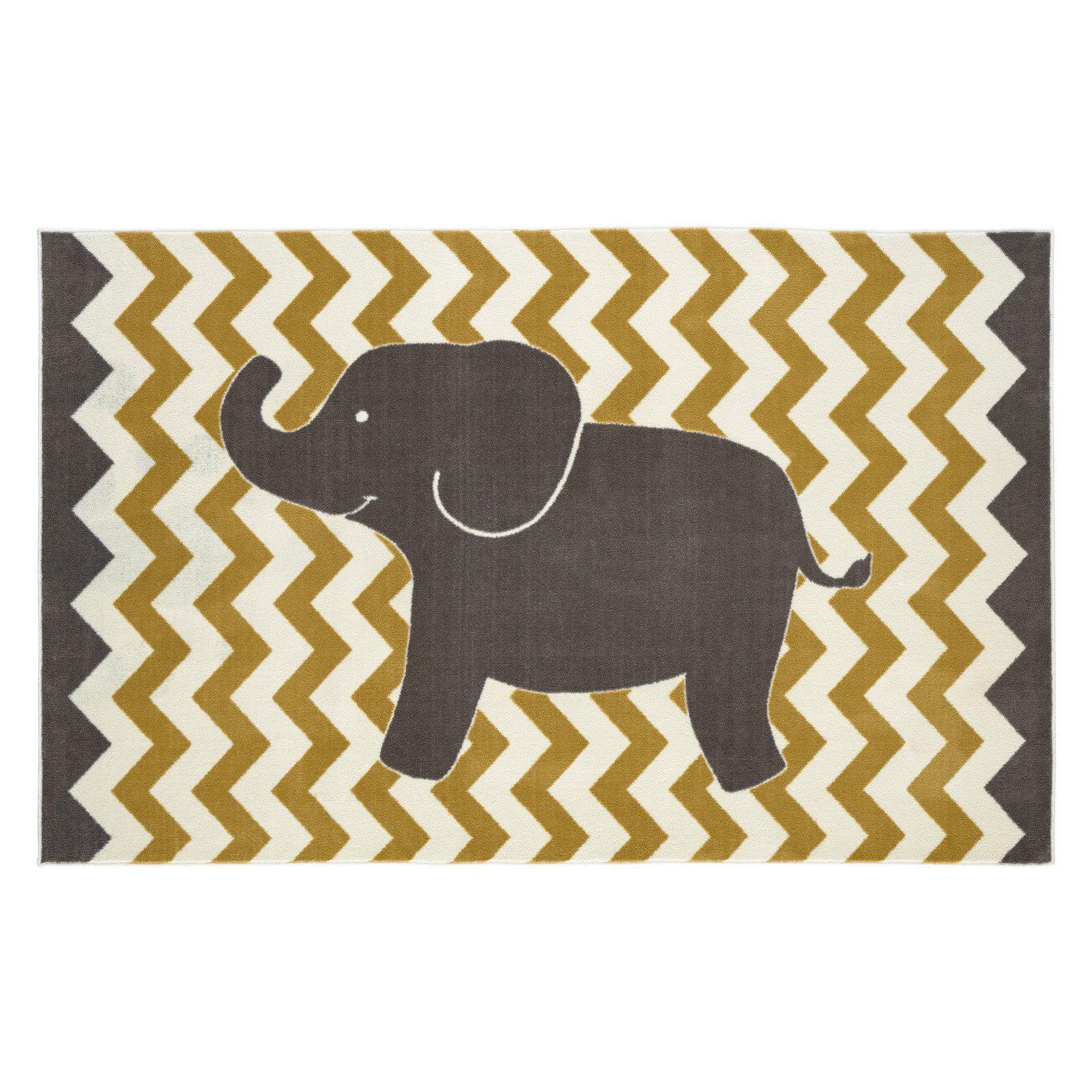 Mohawk Home Lucky Elephant Area Rug