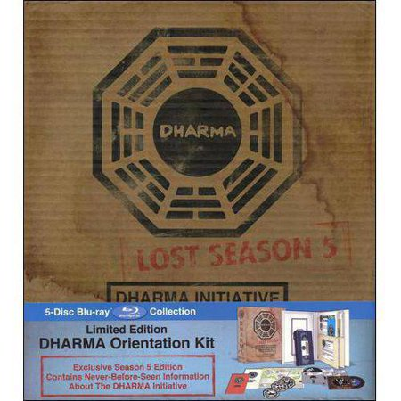 Lost: The Complete Fifth Season - Dharma Initiative Orientation Kit (Blu-ray) (Limited Edition)