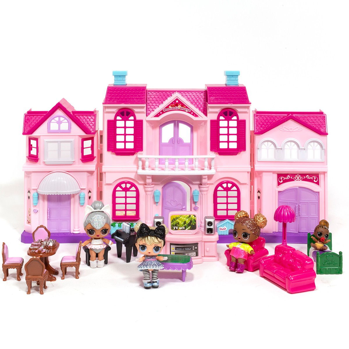 Ihubdeal My Sweet Surprise 18 Piece Dollhouse Enchanted Home Lights