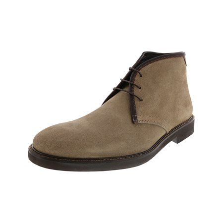 Bugatchi Men's Verona Chukka Ardesia Ankle-High Suede Boot - 11M