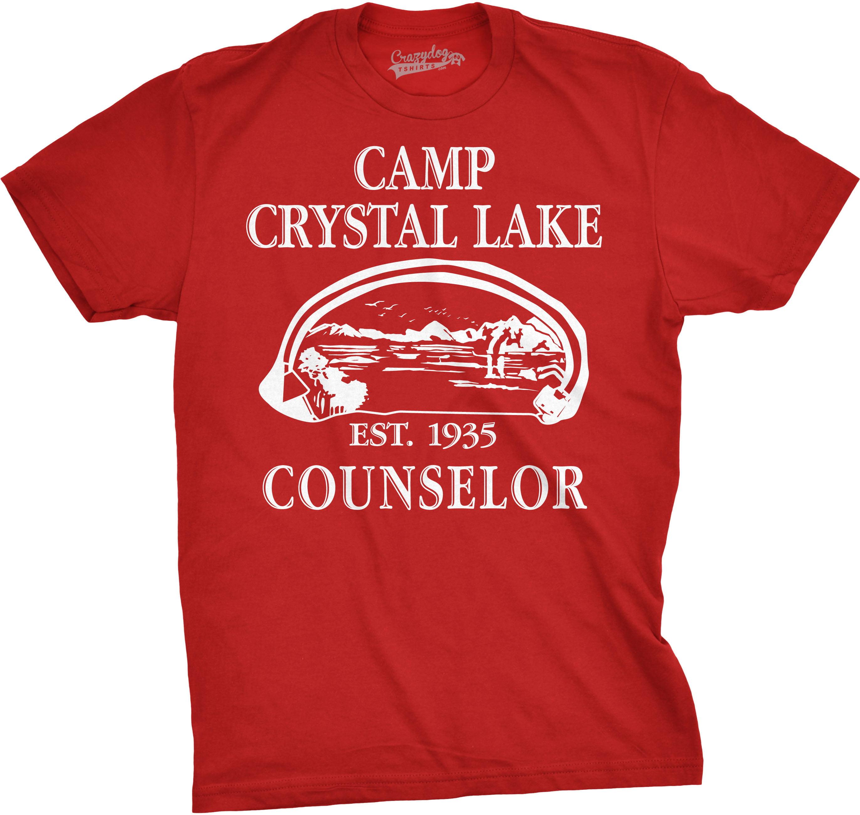 Camp Camping Crystal Lake Counselor Vintage Design Sweatshirt