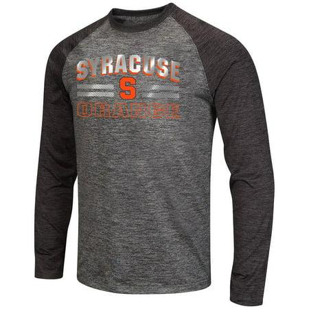 Mens Ncaa Syracuse Orange Raven Long Sleeve Tee Shirt