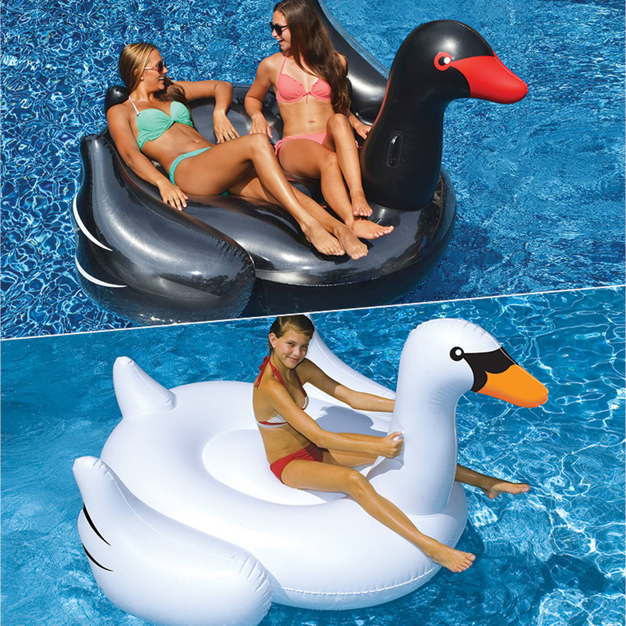 Swimline Cookie Float Inflatable Kids Swimming Pool Toy Raft