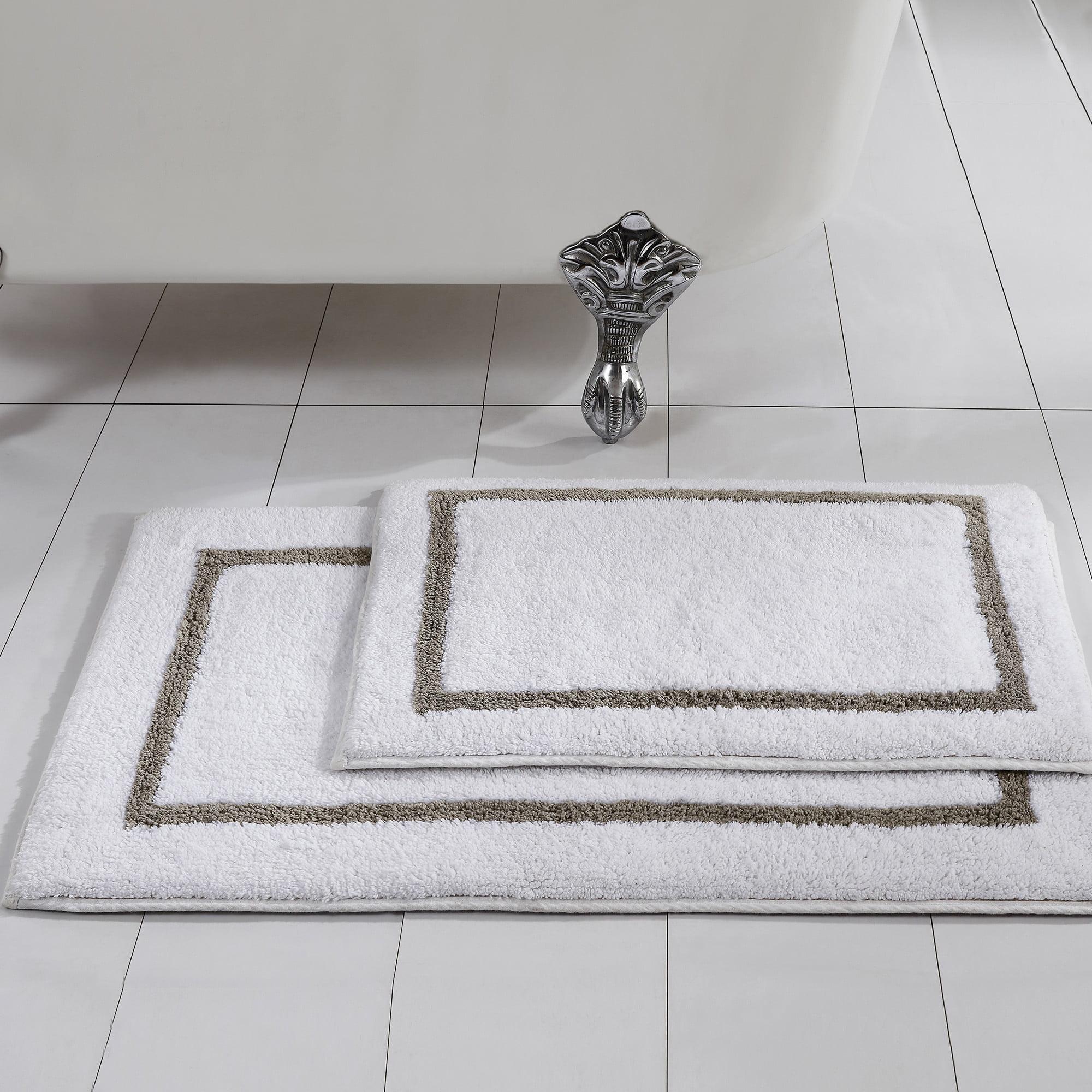 Modern Threads Reversible Bath Rug Set, Modern Bathroom Rug Sets