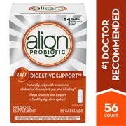 Align Probiotic Daily Digestive Health Supplement Capsules, 56 Ct