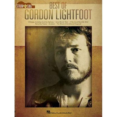 Best of Gordon Lightfoot - Strum & Sing Guitar