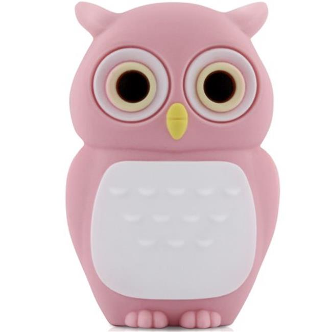 Bone Collection D10021P 8 GB Owl USB Drive, Pink
