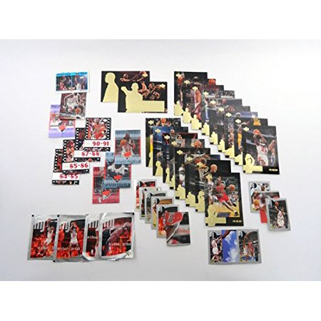 Group of (50) Different Michael Jordan NBA Basketball Cards All in Gradeable Nm/Mt Condition Chicago Bulls Air Jordan ()