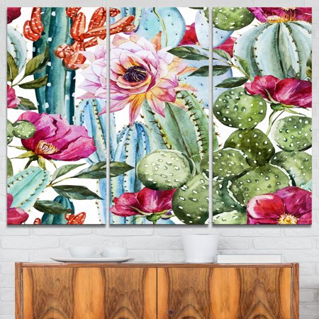 Design Art - Cactus Pattern Watercolor - image 1 de 1