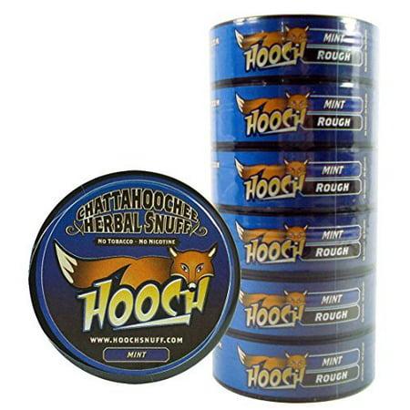 (6)Six Chattahoochee Hooch Herbal Snuff Cans 1.2oz/34g - MINT - ROUGH - No To... - Walmart.com