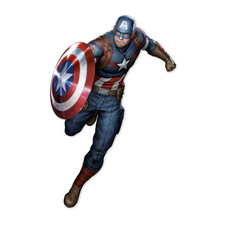 Decalcomania Marvel Captain America Augmented Reality Wall Decal