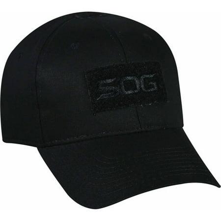 SOG Black Patch Cap Hat 574358ee46c