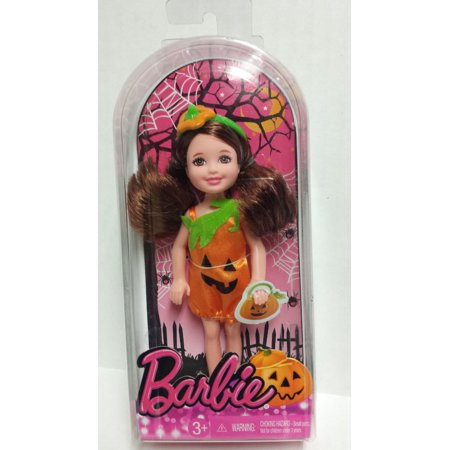 Barbie Happy Halloween Chelsea Small Holiday Doll Pumpkin Costume 2013 - Halloween Barbie Target