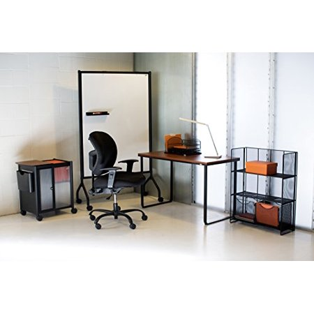 Safco S 3252bl Onyx Mesh Desktop Organizer With 3 Drawers Black