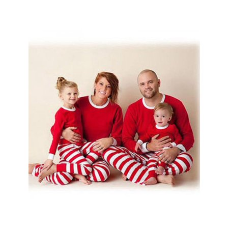 Winsellers - Winsellers Family Matching Christmas Stripe Pajamas Sets Dad  Mom Kids Baby Family Fitted Outfits - Walmart.com 8f8907360