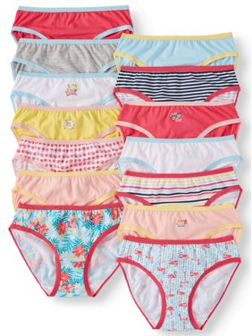 bb0dd53cbb0f Product Image Wonder Nation Girls 100% Cotton Bikini Panty, 14 pack