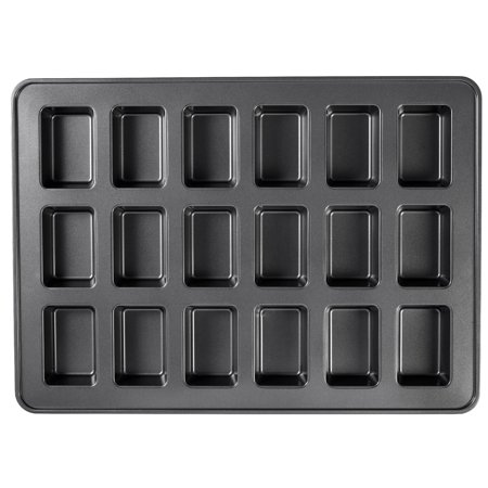 Wilton Mega Sized Mini Loaf Pan, 18 Cavities, 15 x 21