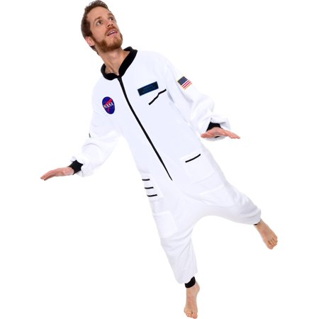 Silver Lilly One Piece Long Sleeve Astronaut Jumpsuit Pajama Costume for $<!---->