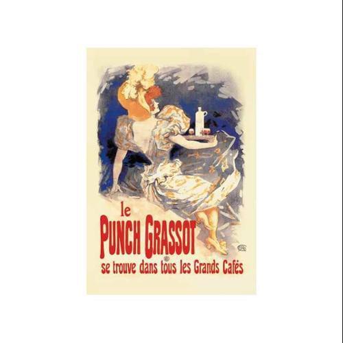 Punch Grassot Print (Unframed Paper Poster Giclee 20x29)