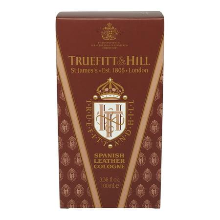 truefitt & hill cologne- spanish leather (3.38 oz)
