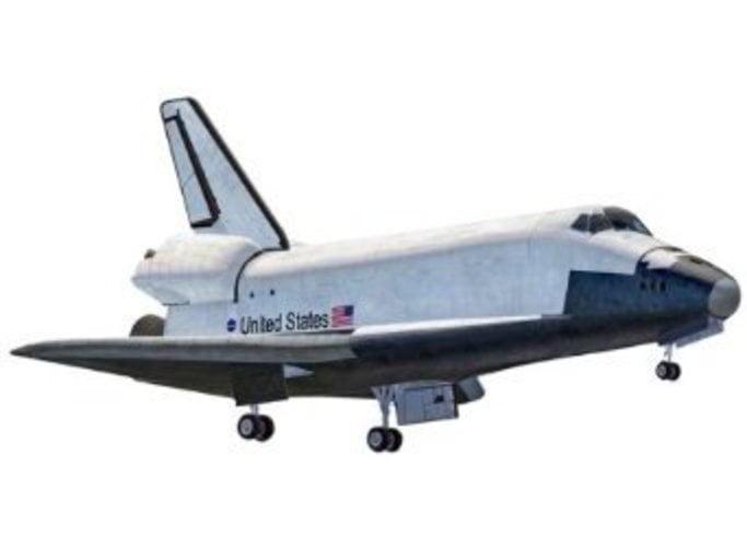 Revell Space Shuttle Plastic Model Kit by Revell
