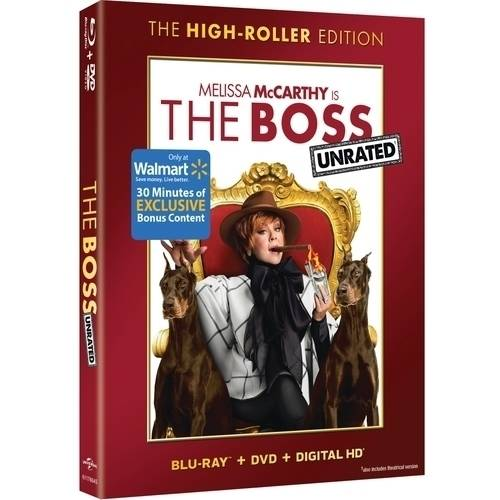 The Boss (Blu-ray + DVD) (Walmart Exclusive) (With INSTAWATCH)
