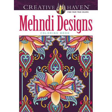 Creative Haven Mehndi Designs Collection Coloring