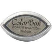 Clearsnap 7308109 Colorbox Metallic Pigment Cat's Eye Ink Pad-platinum