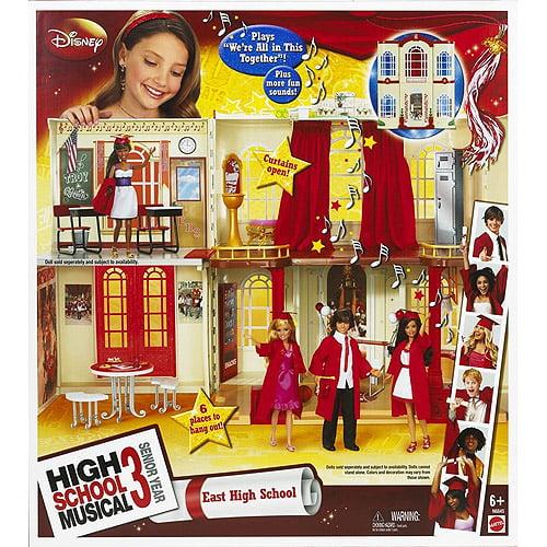 Mattel High School Musical 3 Playset, East High School