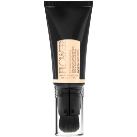 Flower E.E. Erase Everything Ultimate Foundation, UF2 Porcelain Tint, 0.57 oz