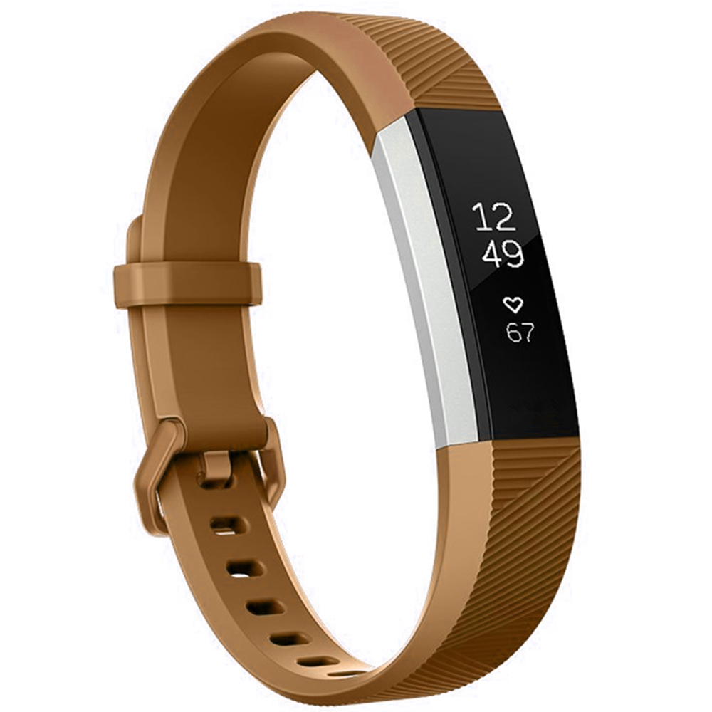 Moretek Replacement Bands for Fitbit Alta HR and Alta / Wristband Accessory with Metal Clasp Fitness Wrist Straps Small Large Size Silicone Bracelet Strap band