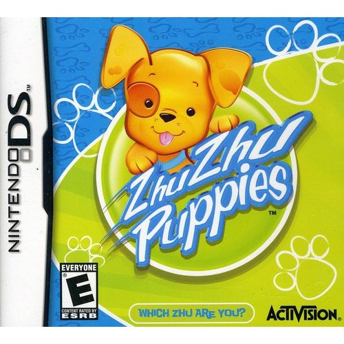 ZHU ZHU PUPPIES (NO TOY-REPLEN ONLY) NLA NDS ACTION