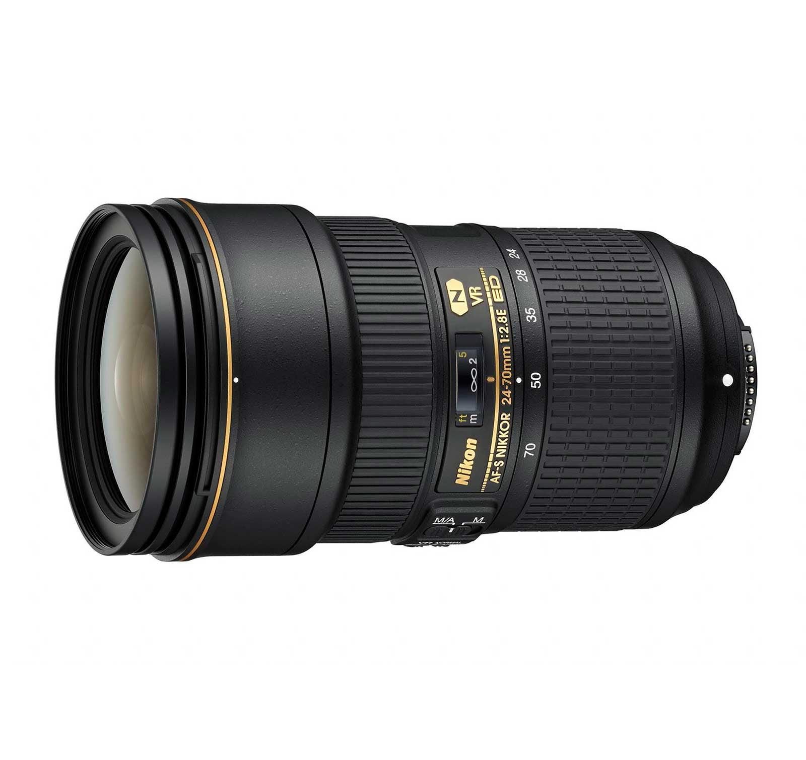 Nikon AF-S NIKKOR 24-70mm f 2.8E ED VR Zoom Lens by Nikon