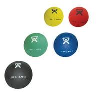 CanDo Soft Pliable Medicine Ball, 5-piece Set