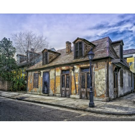 Southern Comfort New Orleans - Canvas Print New Orleans Louisiana Lafitte's Blacksmith Shop Stretched Canvas 10 x 14