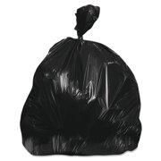 Jaguar Plastics Commercial Trash Bag, 38 x 60, 60-Gal, 22 Micron, Black, 15 Bags/RL, 10 Rolls/CT -JAGRH386022BLK