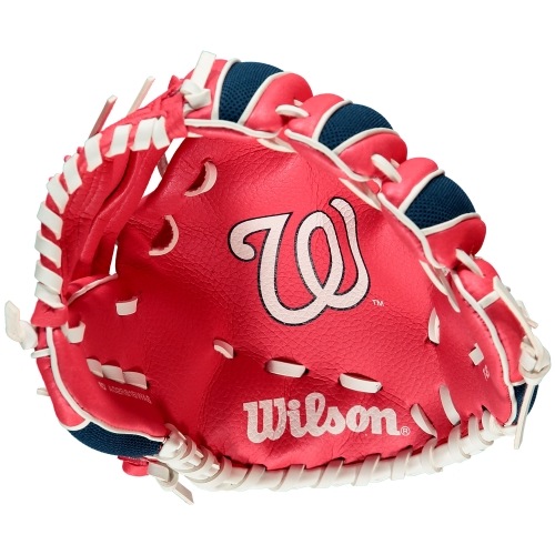 "Wilson A200 Washington Nationals 10"" Tee Ball Glove"