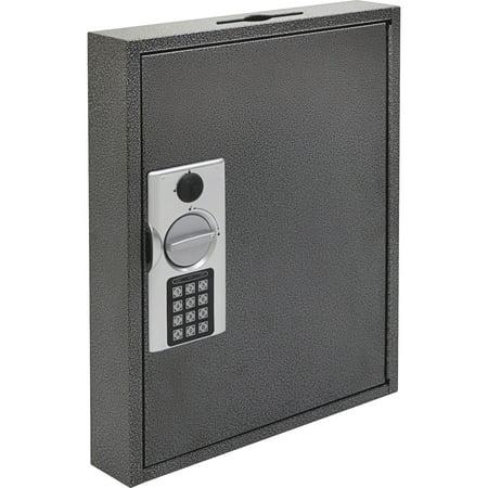 FireKing, FIRKE130260, E-lock Steel Key Cabinets, 1 Each, White,Yellow,Silver,Black
