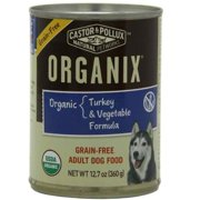 Castor & Pollux Dog Food Organix Can Trky 12.7 OZ (Pack of 12)