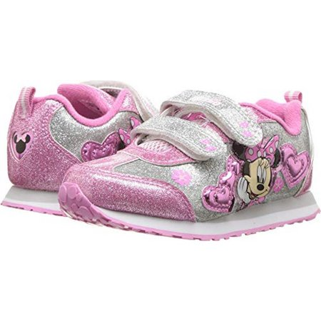 Josmo Girls Minnie Mouse Sneakers, - Minnie Mouse Shoes Adults