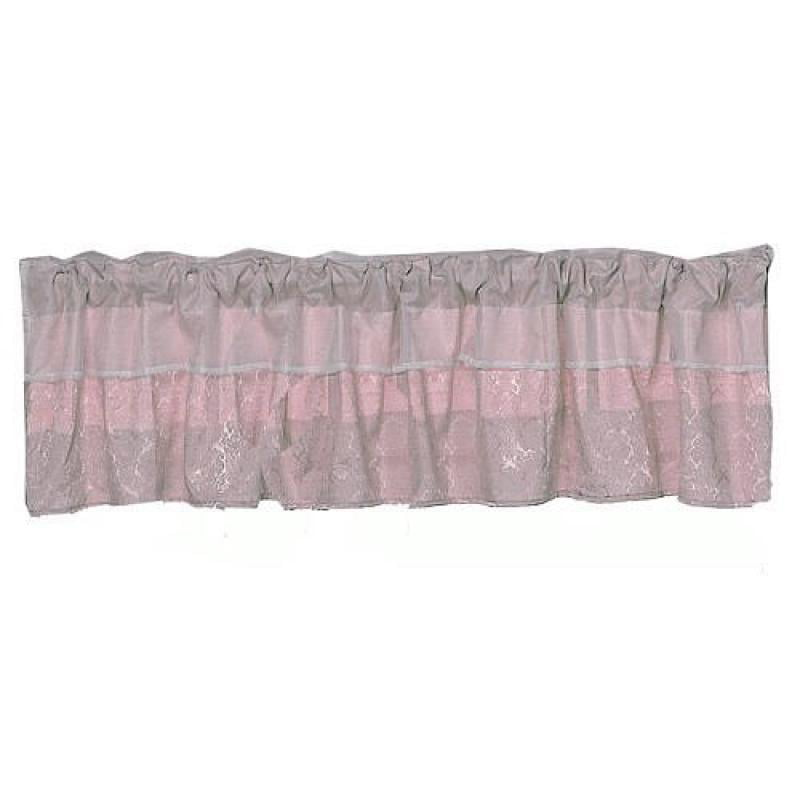 Baby Doll Bedding Queen Valance, Pink by Baby Doll Bedding