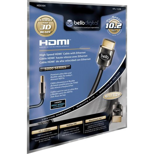 Bello HD5104 Hdmi 1.2 M 10.2gps Thin Flexible C