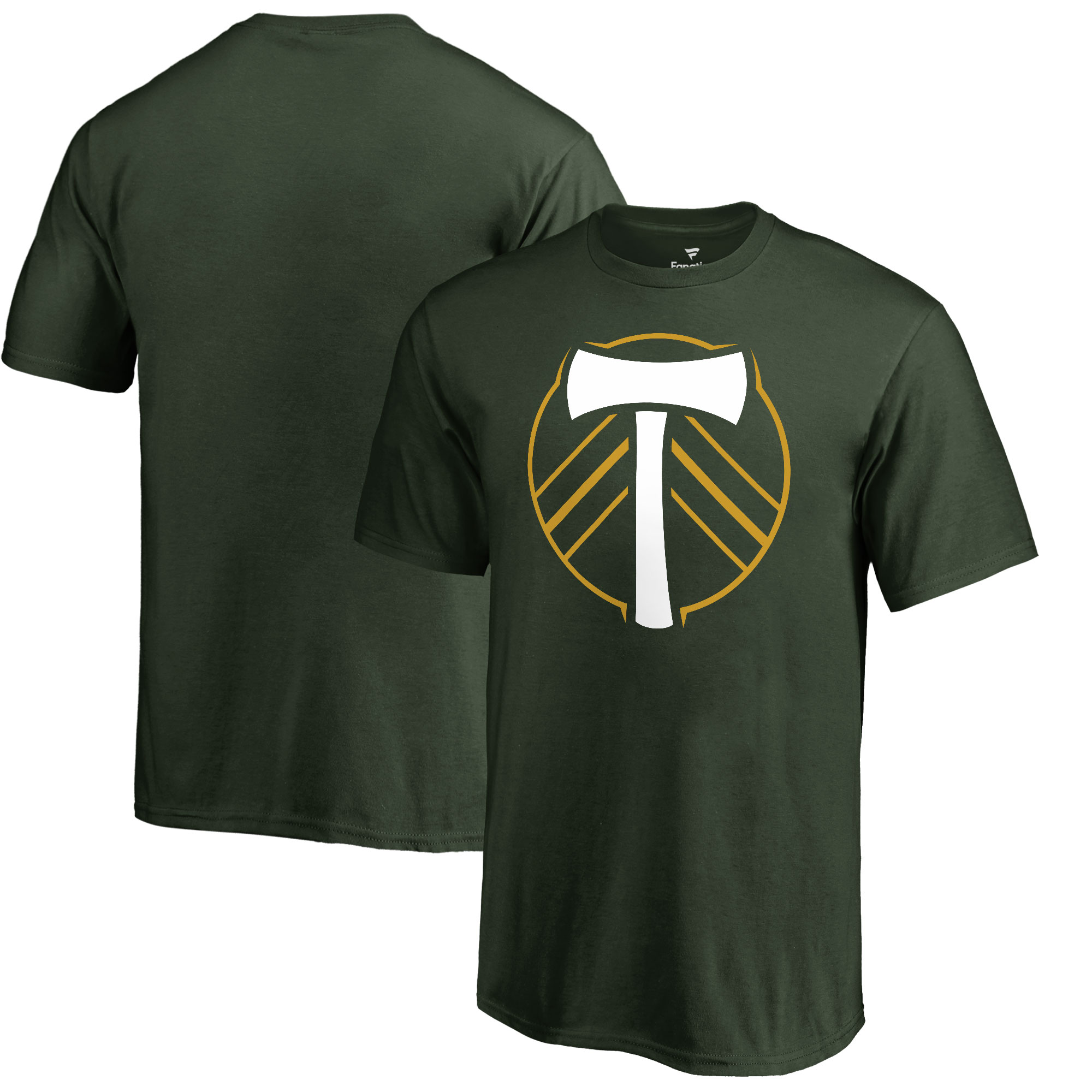 Portland Timbers Fanatics Branded Youth Primary Logo T-Shirt - Green