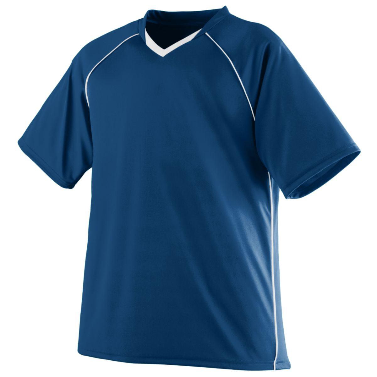 Augusta Striker Jersey Nav/Whi Xl - image 1 of 1