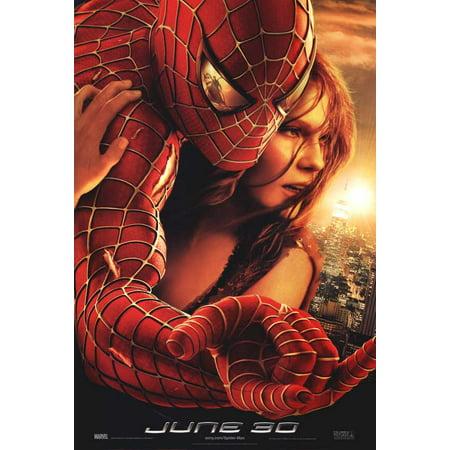 Spider Man 2 2004 11x17 Movie Poster