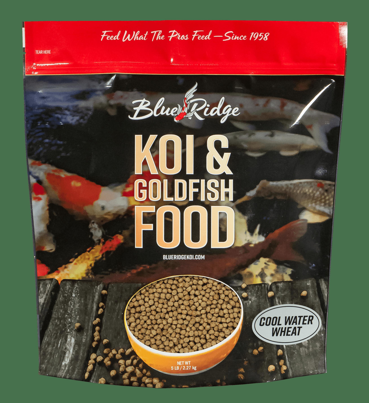 Blue Ridge Cool Water Wheat Formula Koi & Goldfish Fish Food Pellets by Blue Ridge Koi & Goldfish