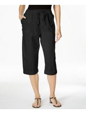 6c1d7208c426a Product Image Karen Scott Women s Comfort Waist Deep Black Pants Size M